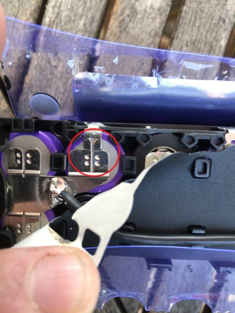 amasele move xiaomi m365 casse connecteur batterie