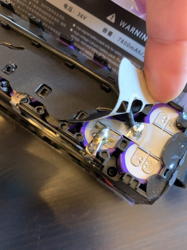 amasele move xiaomi m365 casse soudure seconde reparation batterie