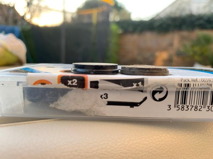 amasele move Xiaomi m365 remplacement plaquette de frein usure plaquette interieure