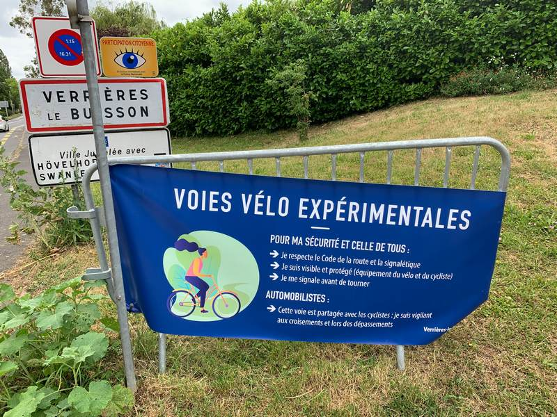 amasele move voies vélo expérimentales
