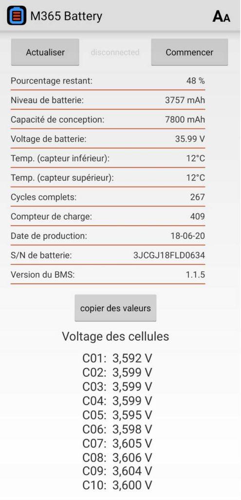 amasele move xiaomi m365 cycle batterie